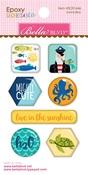 Secrets Of The Sea Boy Icon Epoxy Stickers - Bella Blvd