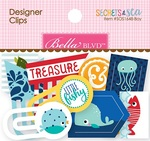 Secrets Of The Sea Boy Designer Clips - Bella Blvd