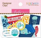 Secrets Of The Sea Boy Designer Clips - Bella Blvd