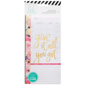 Meal Plan Planner Inserts - Heidi Swapp Memory Planner 2017 - Personal