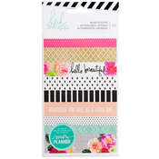 Washi Book Stickers, 3 Sheets - Heidi Swapp Memory Planner