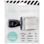 Roller Word Stamps - Heidi Swapp Memory Planner