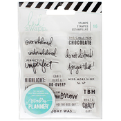 Day Clear Stamps - Heidi Swapp Memory Planner