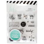 Weekend Clear Stamps - Heidi Swapp Memory Planner
