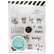 Weekend Clear Stamps - Heidi Swapp Memory Planner