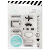 Icons Clear Stamps - Heidi Swapp Memory Planner