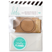 Mini Envelopes & Tags - Heidi Swapp Memory Planner