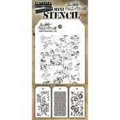Tim Holtz Mini Layered Stencil Set #25