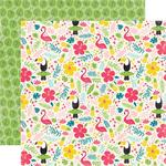 Tropical Floral Paper - Summer Fun - Echo Park