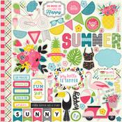 Summer Fun Element Stickers - Echo Park