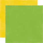 Green - Yellow Paper - Summer Fun - Echo Park