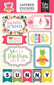 Summer Fun Layered Stickers - Echo Park