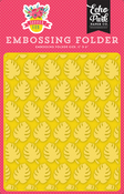 Perfect Palm Embossing Folder - Summer Fun - Echo Park