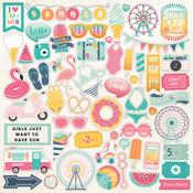 Summer Dreams Element Stickers - Echo Park
