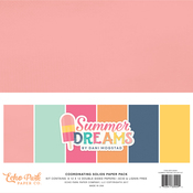 Summer Dreams Solids Cardstock Pack - Echo Park