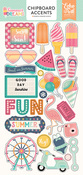 Summer Dreams Chipboard Stickers - Echo Park