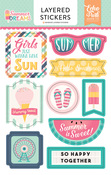 Layered Stickers - Summer Dreams - Echo Park