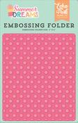 Sunny Dot Embossing Folder - Summer Dreams - Echo Park