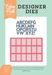 Letter Box Alphabet Die Set - Summer Dreams - Echo Park