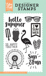 I Heart Summer Stamp - Summer Dreams - Echo Park