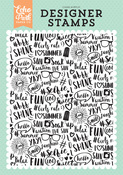 Summer Vibes A2 Background Stamp - Summer Dreams - Echo Park