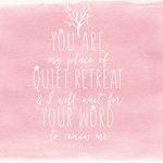 "Quiet Retreat - Illustrated Faith Seeds Of Faith Cardstock 12""X12"""