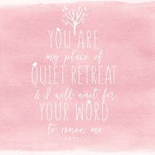 "Quiet Retreat - Illustrated Faith Seeds Of Faith Cardstock 12""X12"""