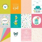 3 x 4s Paper - Seeds Of Faith - Illustrated Faith