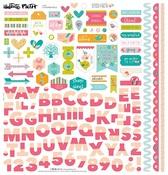 Seeds Of Faith Fundamental Sticker Sheet - Illustrated Faith