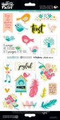 Seeds Of Faith Elements Sticker Sheet - Illustrated Faith