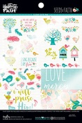 Seeds Of Faith Clear Cuts Pad - Illustrated Faith