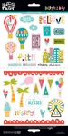 Delight In His Day Element Stickers - Illustrated Faith