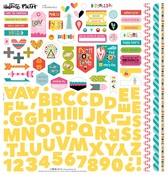 """Fundamentals - Illustrated Faith Delight In His Day Stickers 12""""X12"""""""