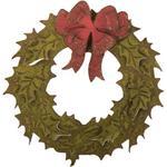 Layered Holiday Wreath Bigz Die W/Texture Fades - Tim Holtz