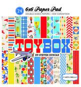 6X6 Paper Pad - Toybox - Carta Bella