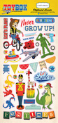 Chipboard Stickers - Toybox - Carta Bella