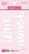 Home & Namaste Acrylic Words - Bella Blvd