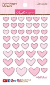 Cotton Candy Mix Puffy Hearts Stickers - Bella Blvd