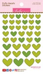 Pickle Juice Mix Puffy Hearts Stickers - Bella Blvd