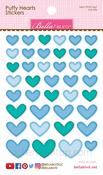 Ice Mix Puffy Hearts Stickers - Bella Blvd