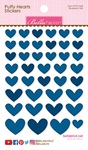 Blueberry Mix Puffy Hearts Stickers - Bella Blvd