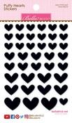 Oreo Black Mix Puffy Hearts Stickers - Bella Blvd