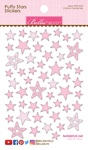 Cotton Candy Mix - Puffy Star Stickers