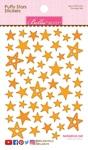Orange Mix Puffy Stars Stickers - Bella Blvd