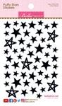 Oreo Black Mix Puffy Stars Stickers - Bella Blvd