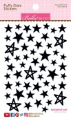 Oreo Black Mix Puffy Stars Stickers - Bella Blvd