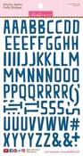 Blueberry Wonky Alpha Stickers - Bella Blvd