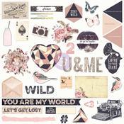 Wild & Free Chipboards & More - Prima