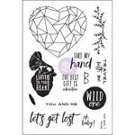 Wild & Free Cling Stamps - Prima