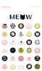 Puffy Stickers - Meow - My Mind's Eye